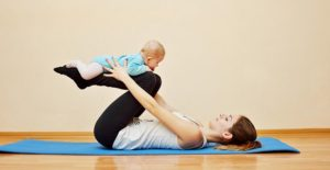 Rückbildungsgymnastik nach Schwangerschaft